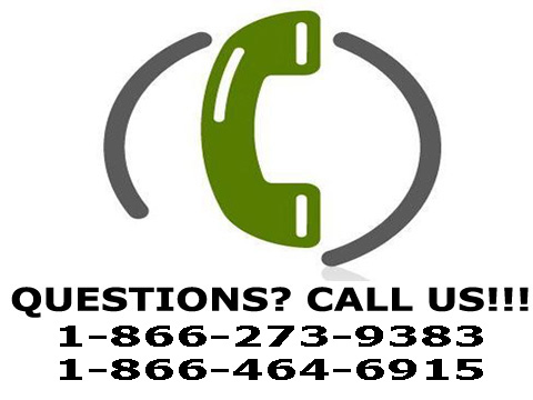 Questions? Call us!!!